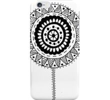 Black and White #8 iPhone Case/Skin