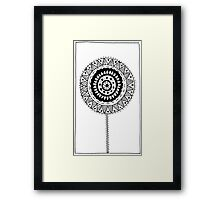 Black and White #8 Framed Print