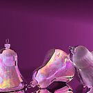 Purple Satin and Silver Bells by plunder