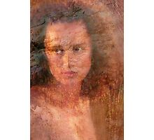 Portrait of a Young Woman Photographic Print