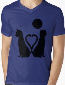 Love & Friendship Mens V-Neck T-Shirt