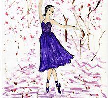 Oriental Ballet Dancer by Marie Loh