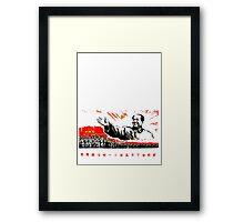 China Propaganda - Mao Framed Print