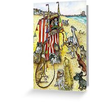 The Punch & Judy Show Greeting Card