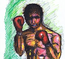 The Boxer by Spencer Holdsworth Art