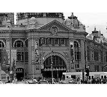 flinders st station Photographic Print