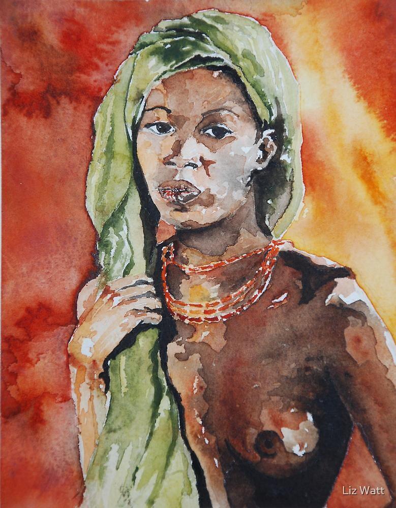female nude by Liz Watt