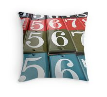 UH, 5, 6, 7, 8 Throw Pillow