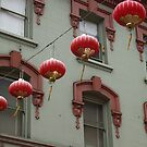 Chinatown Lanterns by Arlene Zapata