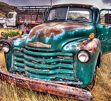 Chevy Work Truck by Timothy S Price