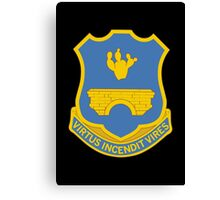 120th Infantry Regiment (United States) Canvas Print