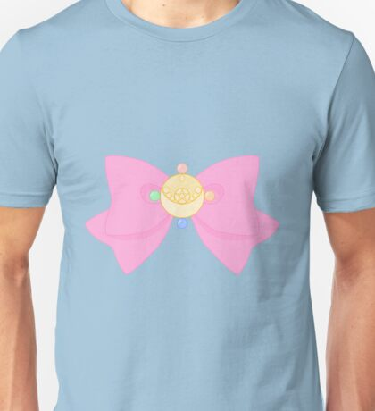 Pastel Sailor Moon Crystal Brooch and Bow Unisex T-Shirt