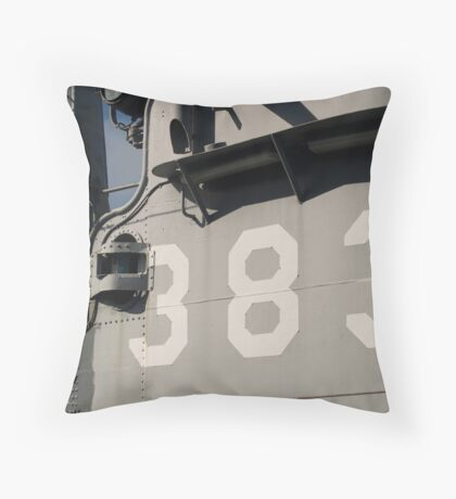 Ship 383 Throw Pillow