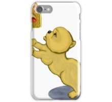 Snooze Poop Dog - anything for a custard cream iPhone Case/Skin