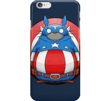 Captain America Totoro iPhone Case/Skin