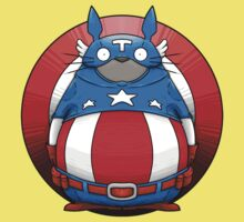 Captain America Totoro Kids Clothes