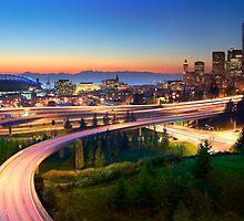 Seattle Freeways by Inge Johnsson