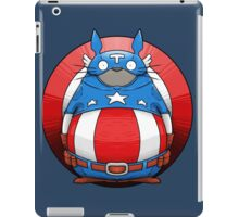 Captain America Totoro iPad Case/Skin