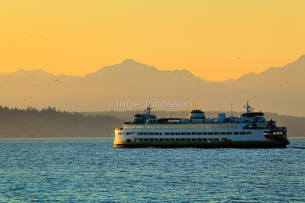 Olympic Ferry by Inge Johnsson