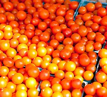 Cherry Tomatoes by phil decocco