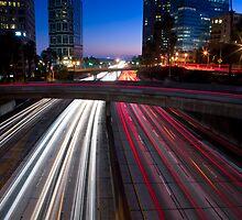 Playing in traffic by Robert Bemus