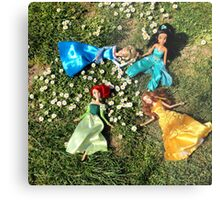 Spring princesses Metal Print