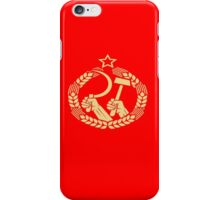 USSR Propaganda - Badge iPhone Case/Skin