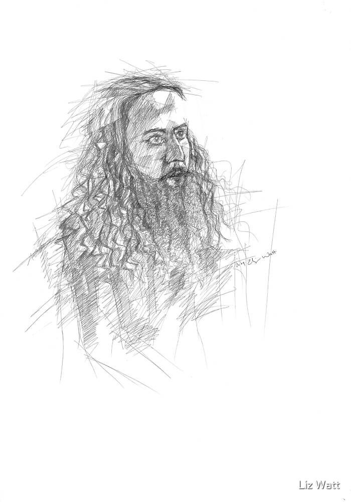 male portrait by Liz Watt