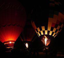 Balloon Glow Trio by wolfepaw
