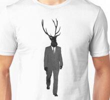 Business Deer Man Unisex T-Shirt