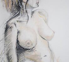 female nude by Liz Watt