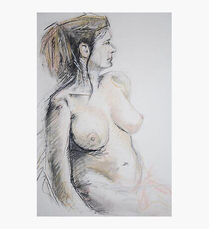 female nude Photographic Print