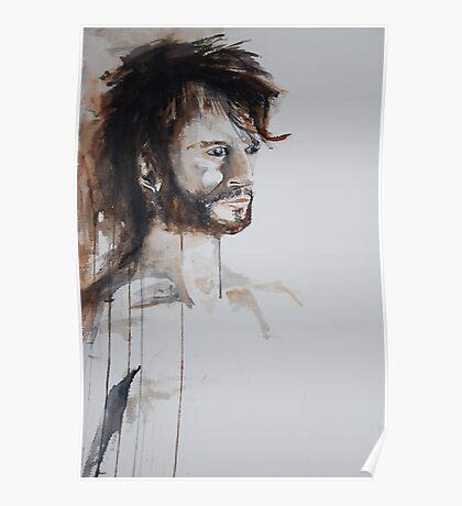 male portrait Poster