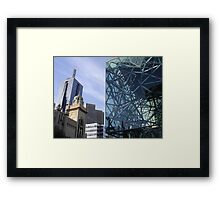 Flinders Streetscape Framed Print