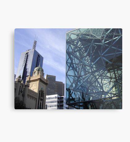 Flinders Streetscape Metal Print