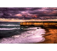 Sunrise on the Great Ocean Road, Victoria Photographic Print