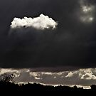 Every cloud has a ... by Robert Dettman