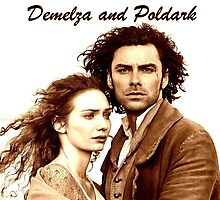 Demelza and Poldark in Cornwall by Lucy1958