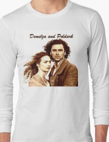 Demelza and Poldark in Cornwall Long Sleeve T-Shirt
