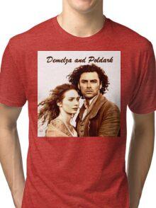 Demelza and Poldark in Cornwall Tri-blend T-Shirt