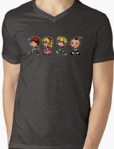 Earthbound Guys Mens V-Neck T-Shirt