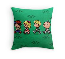 Earthbound Guys Throw Pillow