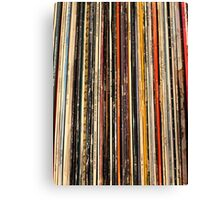 Old records Canvas Print