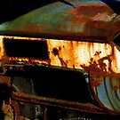Rusty Detail Of An Abandoned Car by Madeleine Forsberg