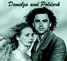 Demelza Carne and Ross Poldark in Cornwall by Lucy1958