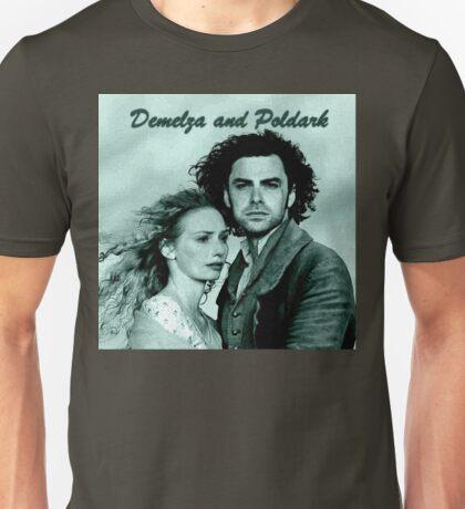 Demelza Carne and Ross Poldark in Cornwall Unisex T-Shirt