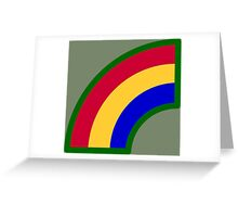 42nd Infantry Division (United States) Greeting Card