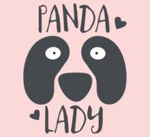 PANDA LADY funny pandas face Baby Tee