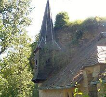 Secret Castle - Luxembourg  by clarebearhh