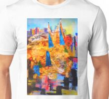 The Spires of St Patrick's Cathedral Melbourne Unisex T-Shirt